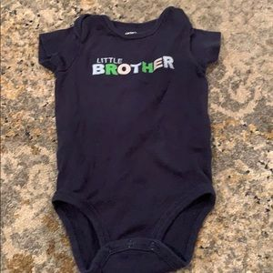 Carters Little Brother Onesie